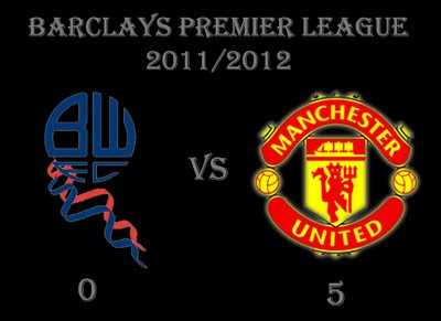Bolton vs Manchester United Result Barclays Premier League