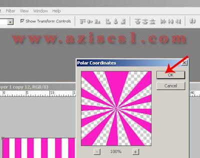 Cara membuat wallpaper Efek Startburst di Photoshop