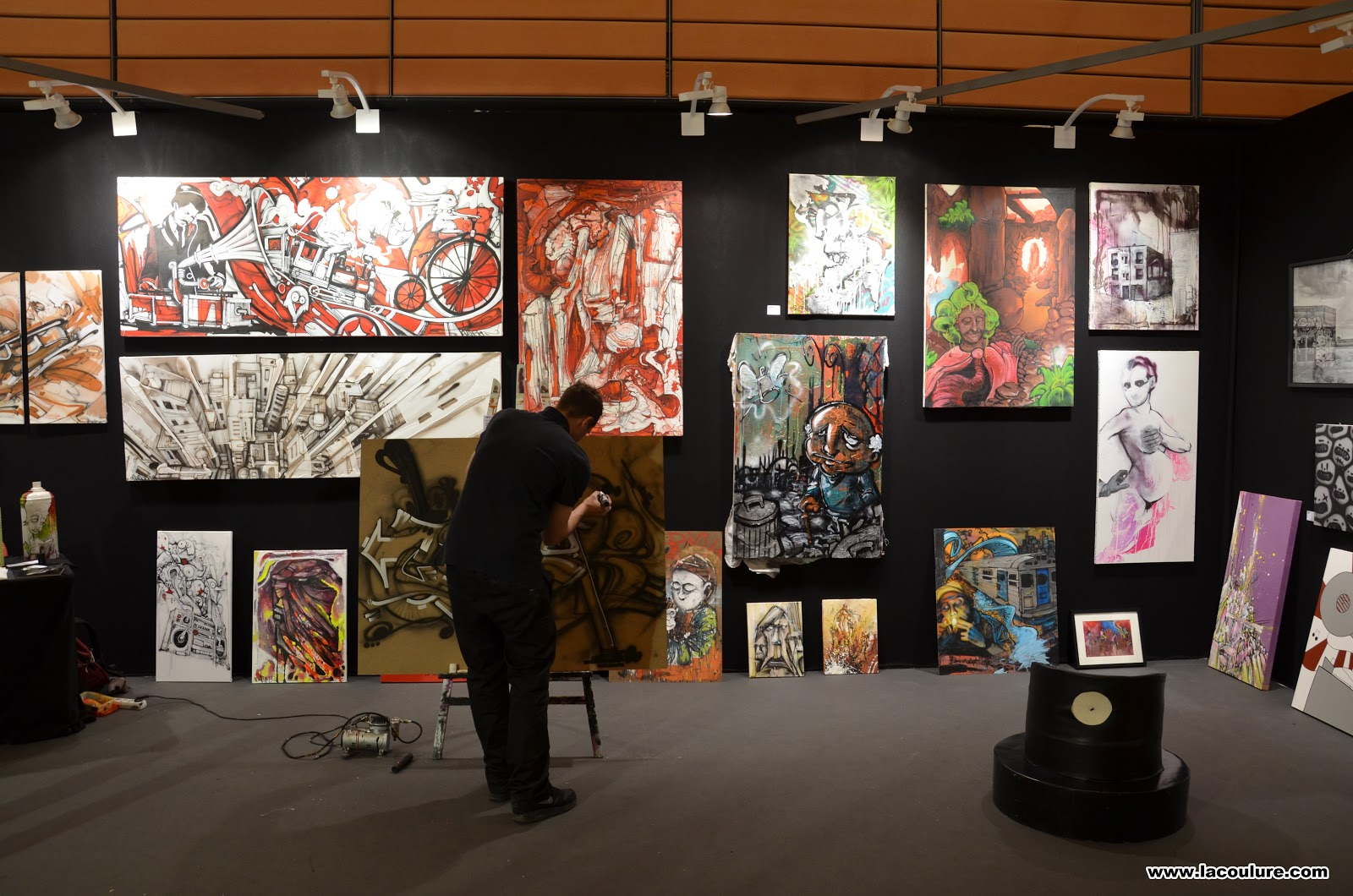 Collectif la coulure graffiti lyon salon d 39 art - Salon art contemporain ...