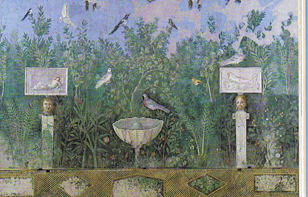 Loyola university medieval studies center internship for Mural garden