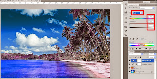5 step to make infrared effect