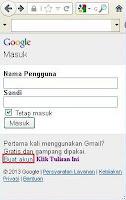 Cara Membuat Email melalui HP