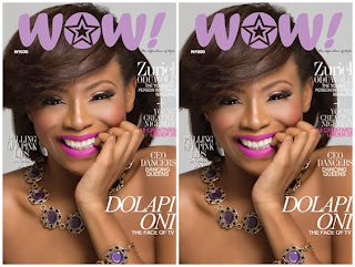 Lagos Socialite Covers Wow Magazine.