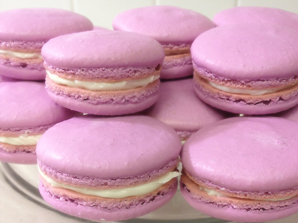 macarons, pastry, baking, food