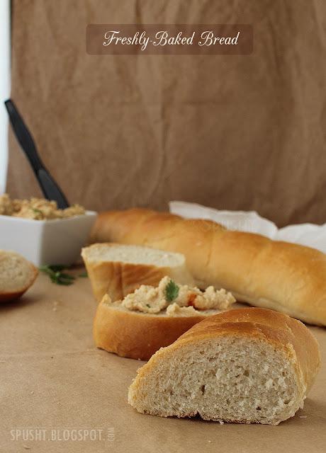 fresh baked egg less homemade white milk bread