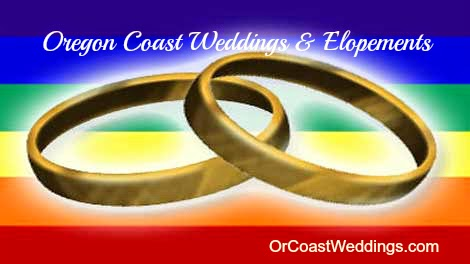 Same Sex Elopements with Oregon Coast Weddings and Elopements
