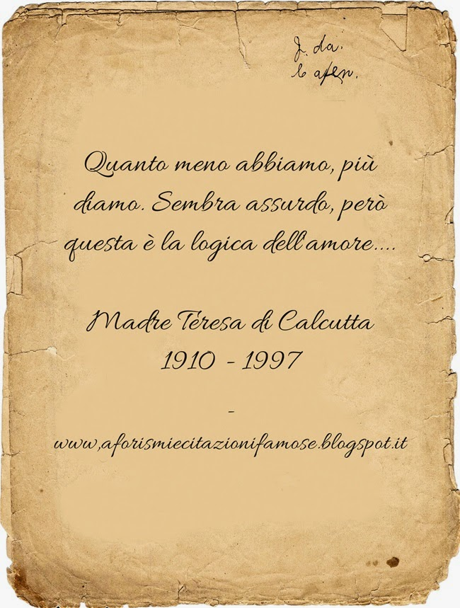 Auguri Matrimonio Madre Teresa : Frasi di madre teresa sul matrimonio xt regardsdefemmes