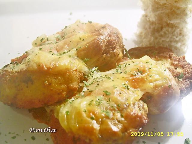 Chiftelute cu mozzarella