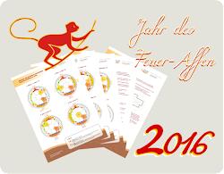 Alle störenden Feng-Shui-Einflüsse in 2016 auf einen Bick - gratis zum Herunterladen