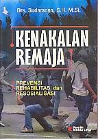 toko buku rahma: buku KENAKALAN REMAJA, pengarang sudarsono, penerbit rineka cipta