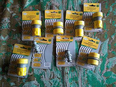 Пластиковые соединители для шлангов фото
