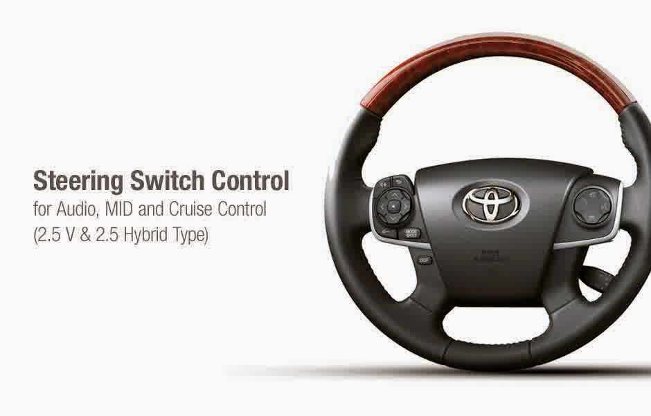 steering swtich toyota camry