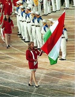 Nyári olimpiákon a 100 év alatt a magyar zászlót Kőbánon kívül nem vitte soha nő