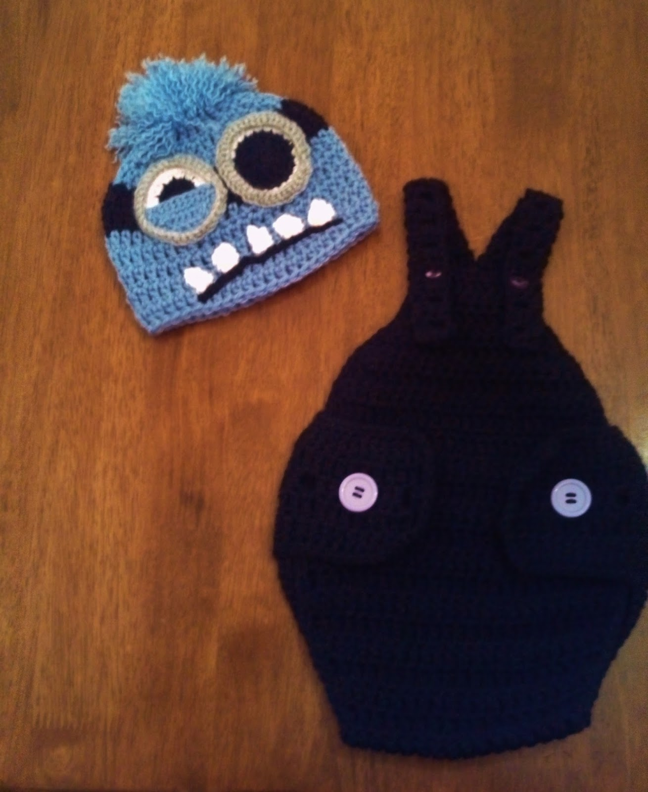 Butterfly\'s Creations: Minion Beanies