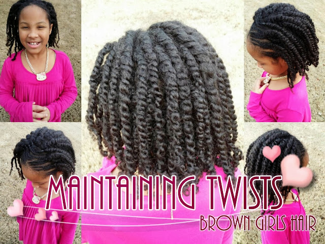 how to, maintain natural hair, twists, twistout, black hair, biracial hair, women