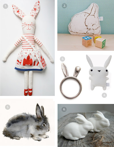 etsy finds - cute bunny rabbits