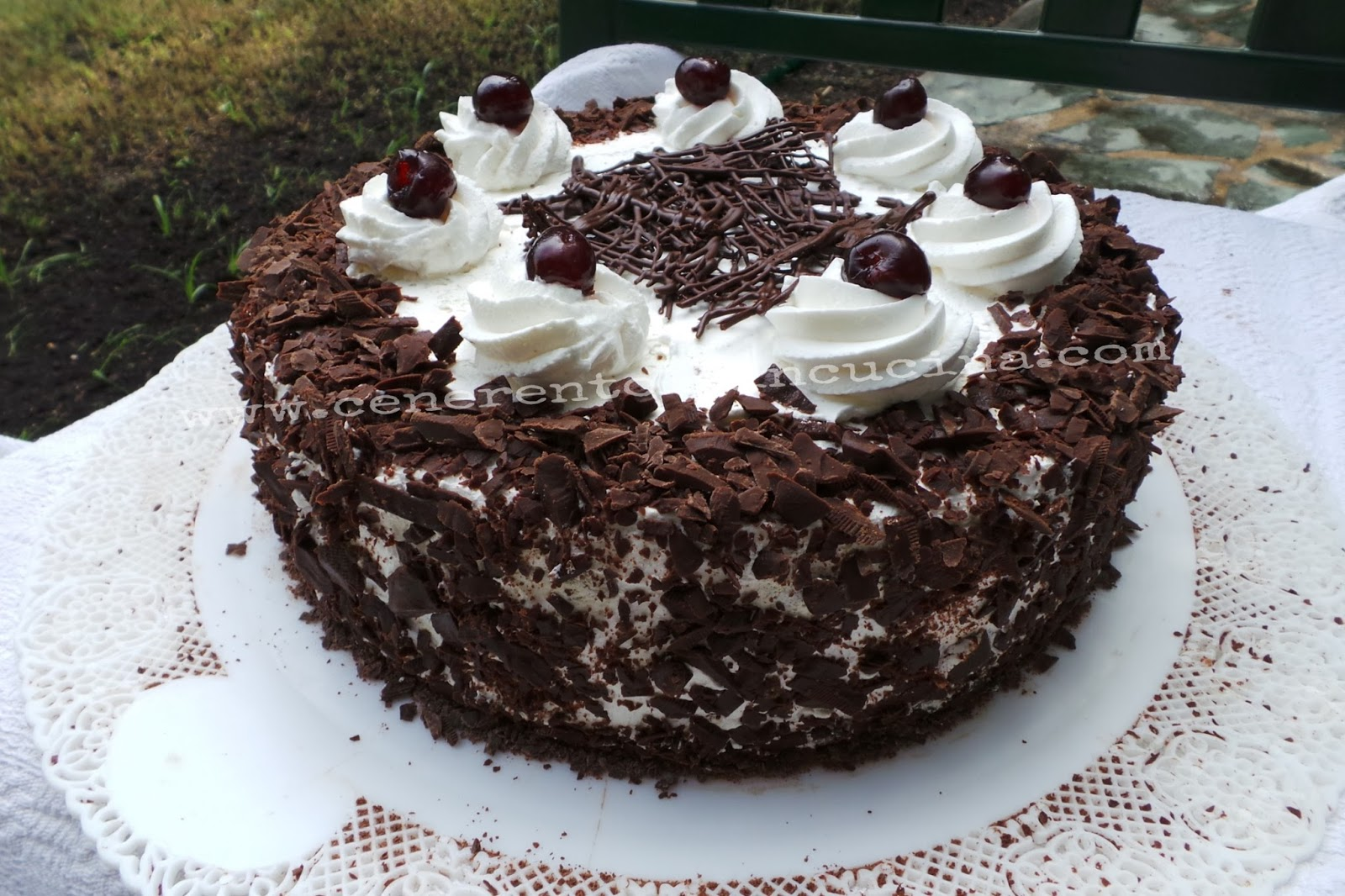 Cenerentola in Cucina: Torta Foresta nera.
