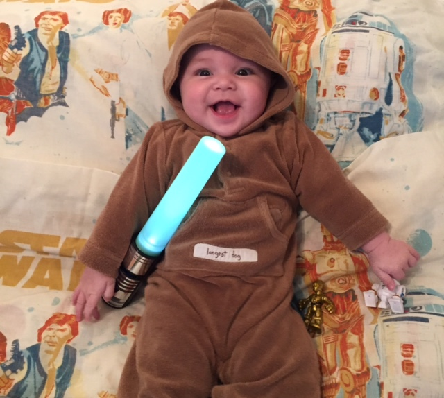 The next generation of female Star Wars fans begins with my daughter.