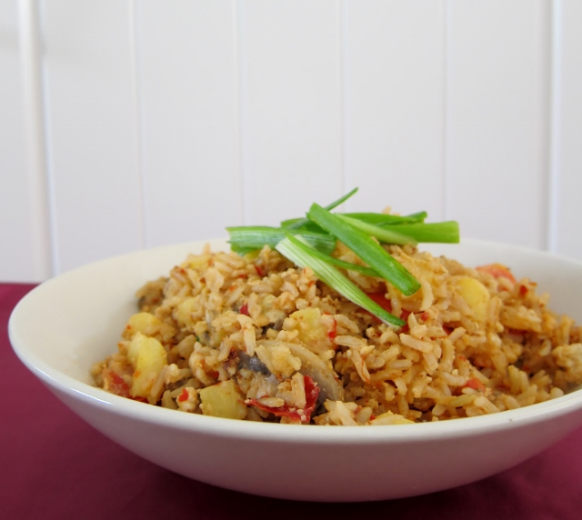 Pineapple Fried Rice from Nomsies Kitchen