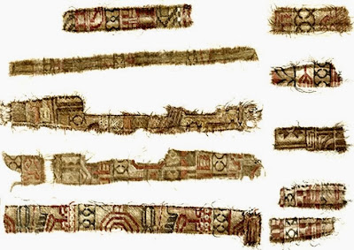Norwegian Vikings purchased silk from Persia
