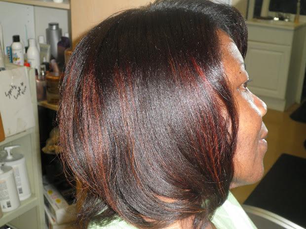 black hair rinse african americans