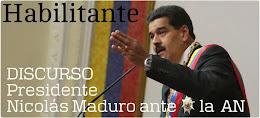 Discurso de Nicolás Maduro solicitando la Ley Habilitante
