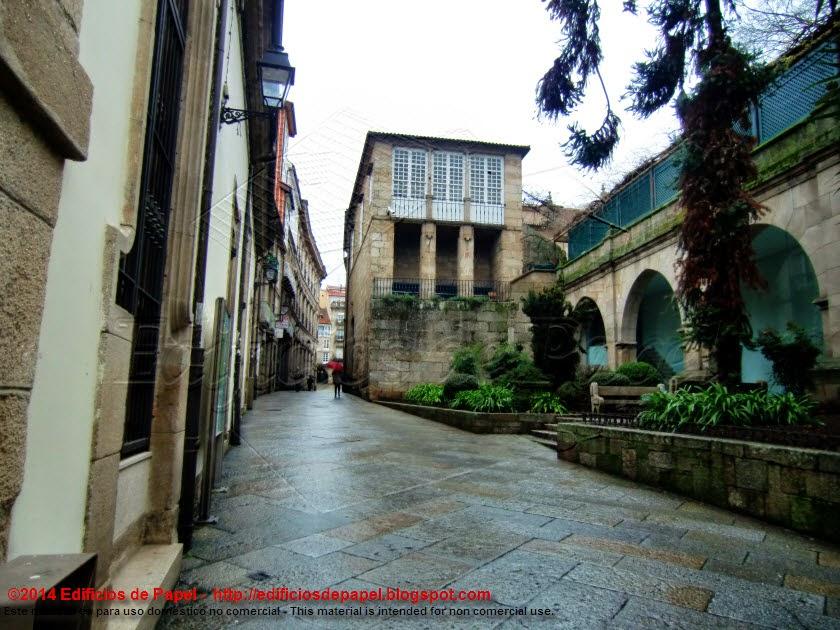 Calle de la Corona en Ourense