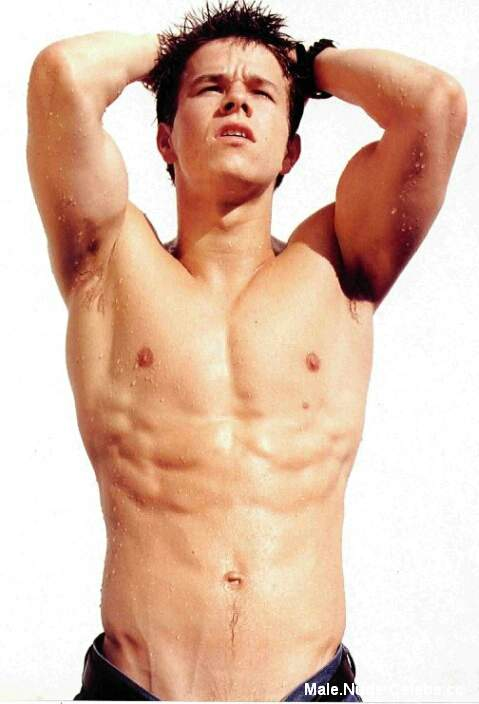 Naked male marky mark