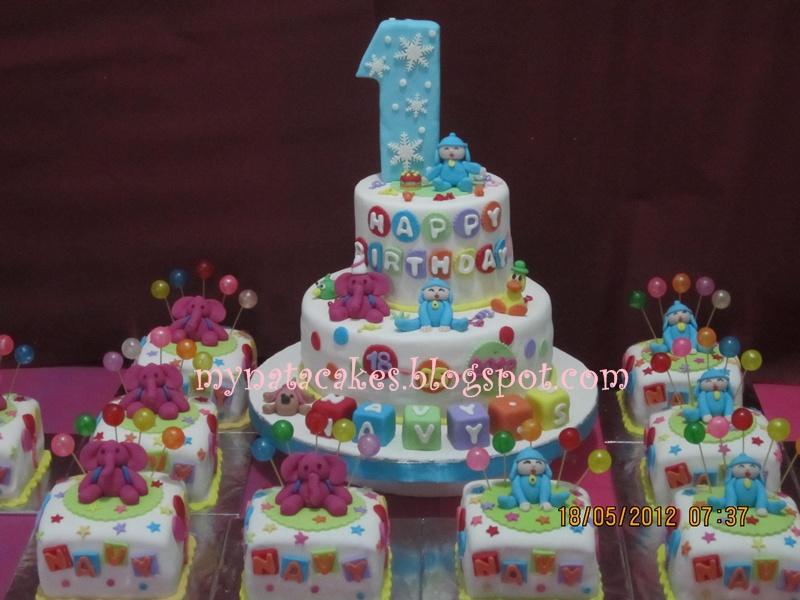 Mynata Cakes Pocoyo Birthday Cake For Navy
