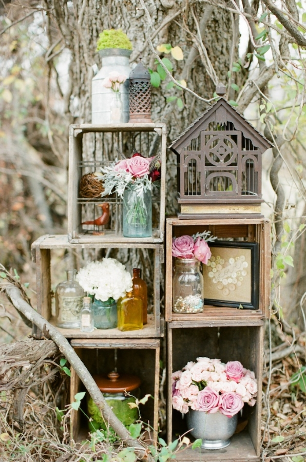 Decoraci n de boda shabby chic mis secretos de boda events - Decoracion shabby ...