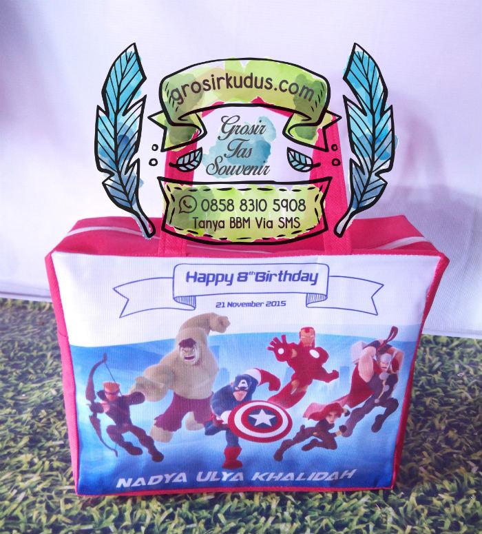 grosir tas ulang tahun avangers