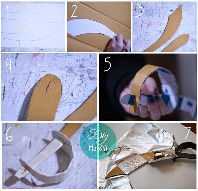 Come fare una spada di cartone