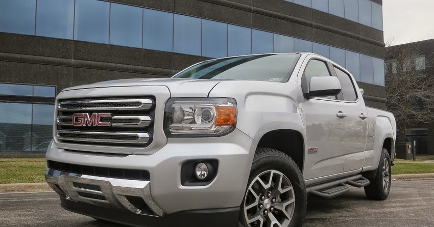 HOVER MOTOR COMPANY: 2015 GMC Canyon test drive review. The truckin' sweet spot