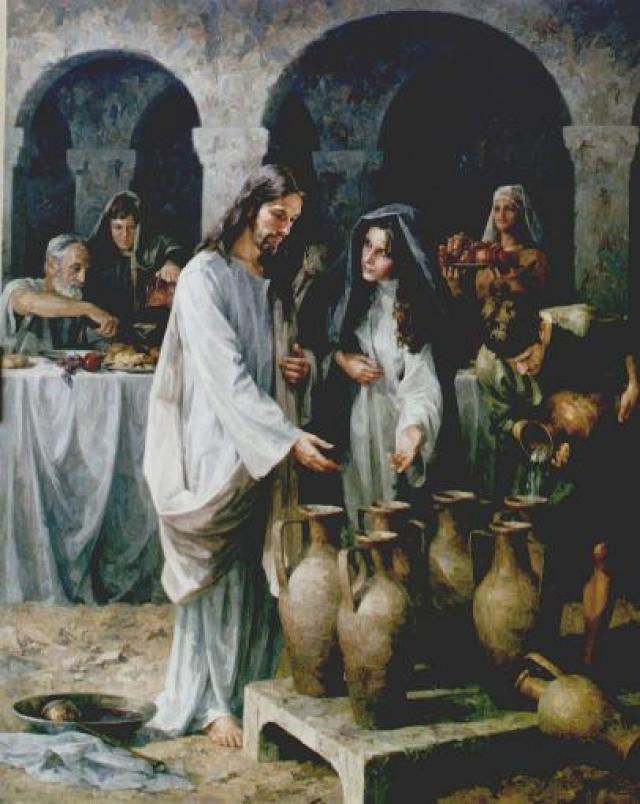 Juan 2,1,12 La boda de Caná
