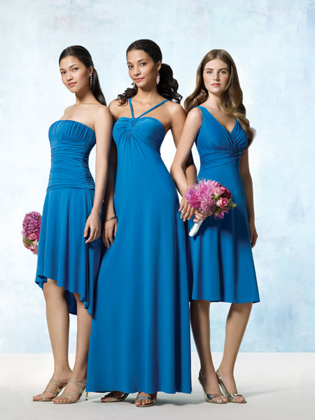 long-blue-bridesmaid-dresses
