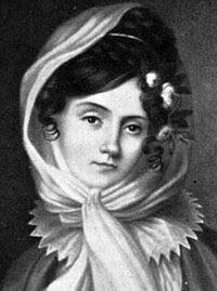 Portrait of Maria Szymanowska in a Scarf