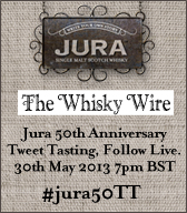 Jura 50th Anniversary Tweet Tasting
