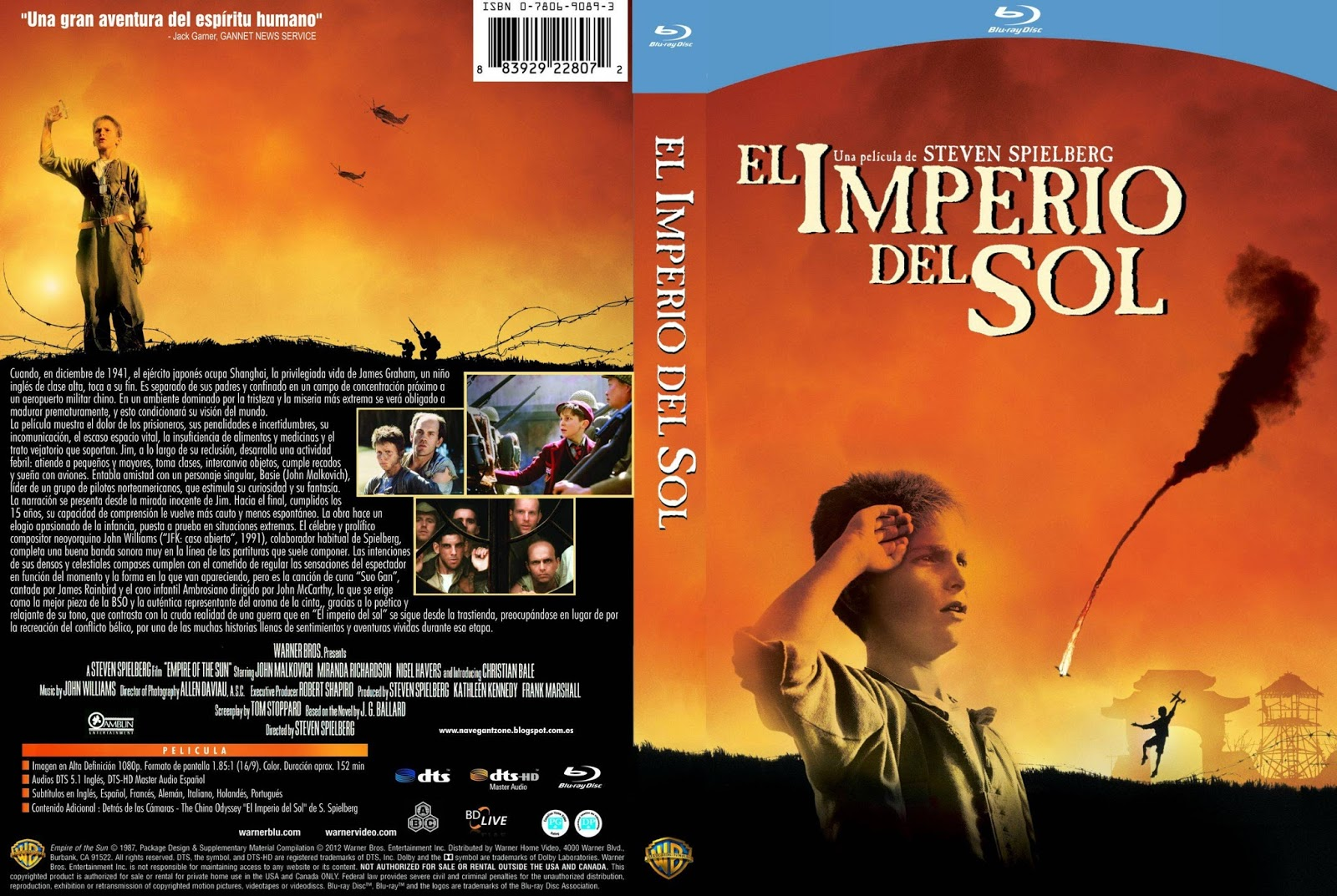 an analysis of the 1987 movie the empire of the sun by steven spielberg Directed by les mayfield with martin sheen, steven spielberg, jg ballard, christian bale a documentary about the making of director steven spielberg's film empire of the sun (1987.
