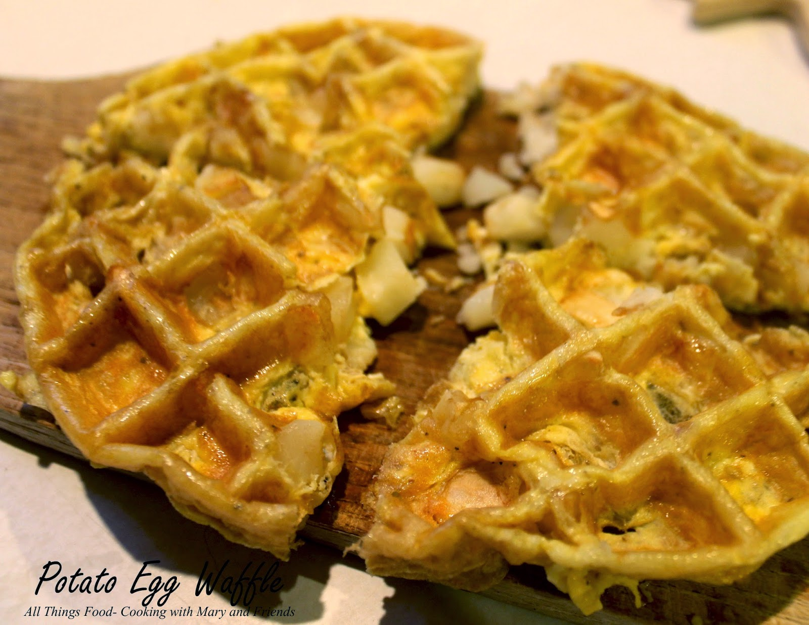 love playing around with different waffle ideas. The good old waffle ...