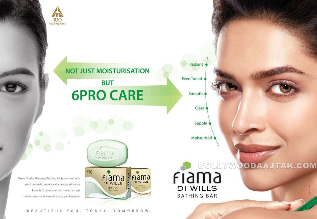 Deepika Padukone New Ad Photoshoot for Fiama Di Wills