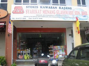 Syarikat Menang Glassware, Stokis Kajang