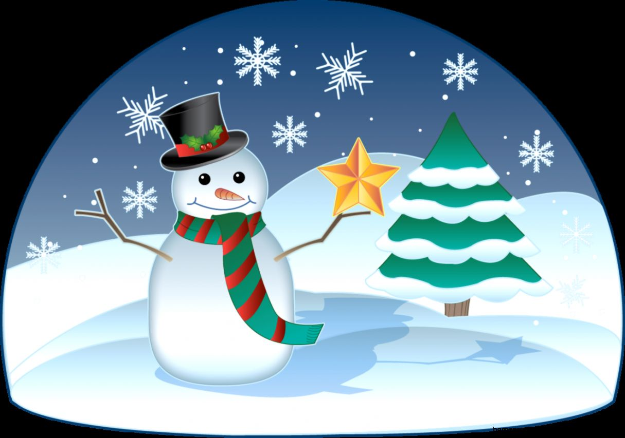 Winter Scene Clipart   Clipart Kid