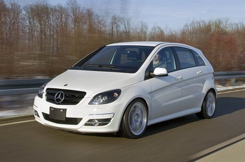 Tesla developing all electric mercedes benz b class for All electric mercedes benz