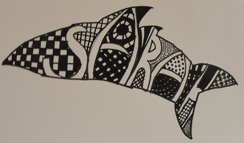 Drawing Using Lines And Shapes : Sinking springs art line shape pattern value name