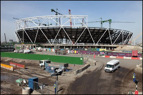 London 2012 Olympic stadium 2011