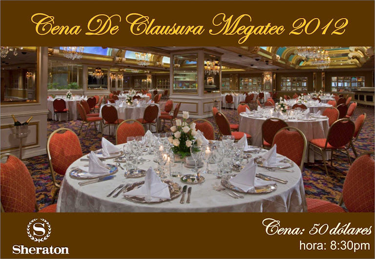 Cena Clausura MEGATEC 2012
