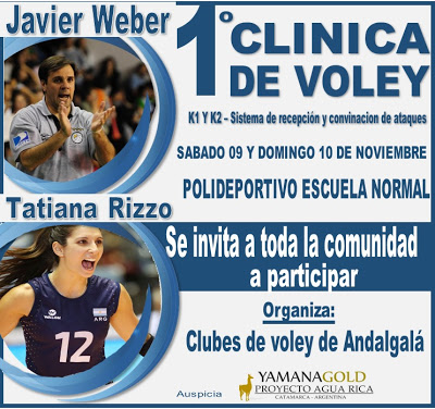 CLINICA DE VOLEY