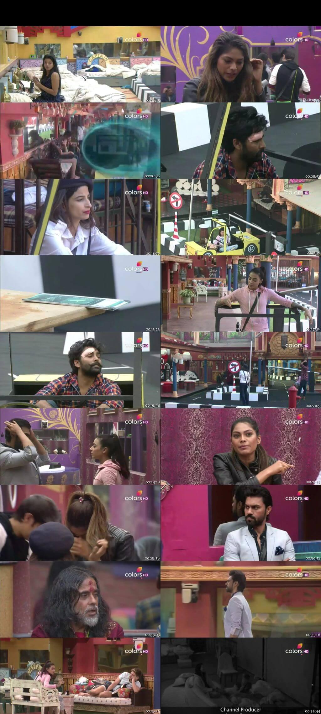 Screenshots Of Hindi Show Bigg Boss 10 7th December 2016 Episode 53 300MB 480P HD