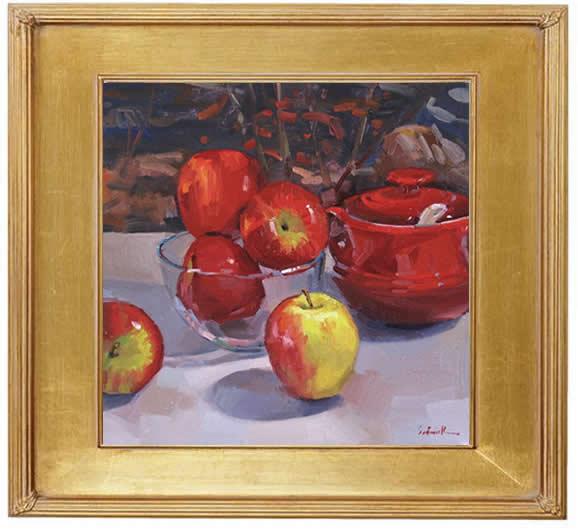 Sedwick Studio Purple Bowl Of Plums Fruit Bowl Still: Sedwick Studio: September 2012