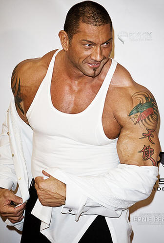 WWE Superstar Dave Batista Tattoos - Celebrity Tattoo Ideas
